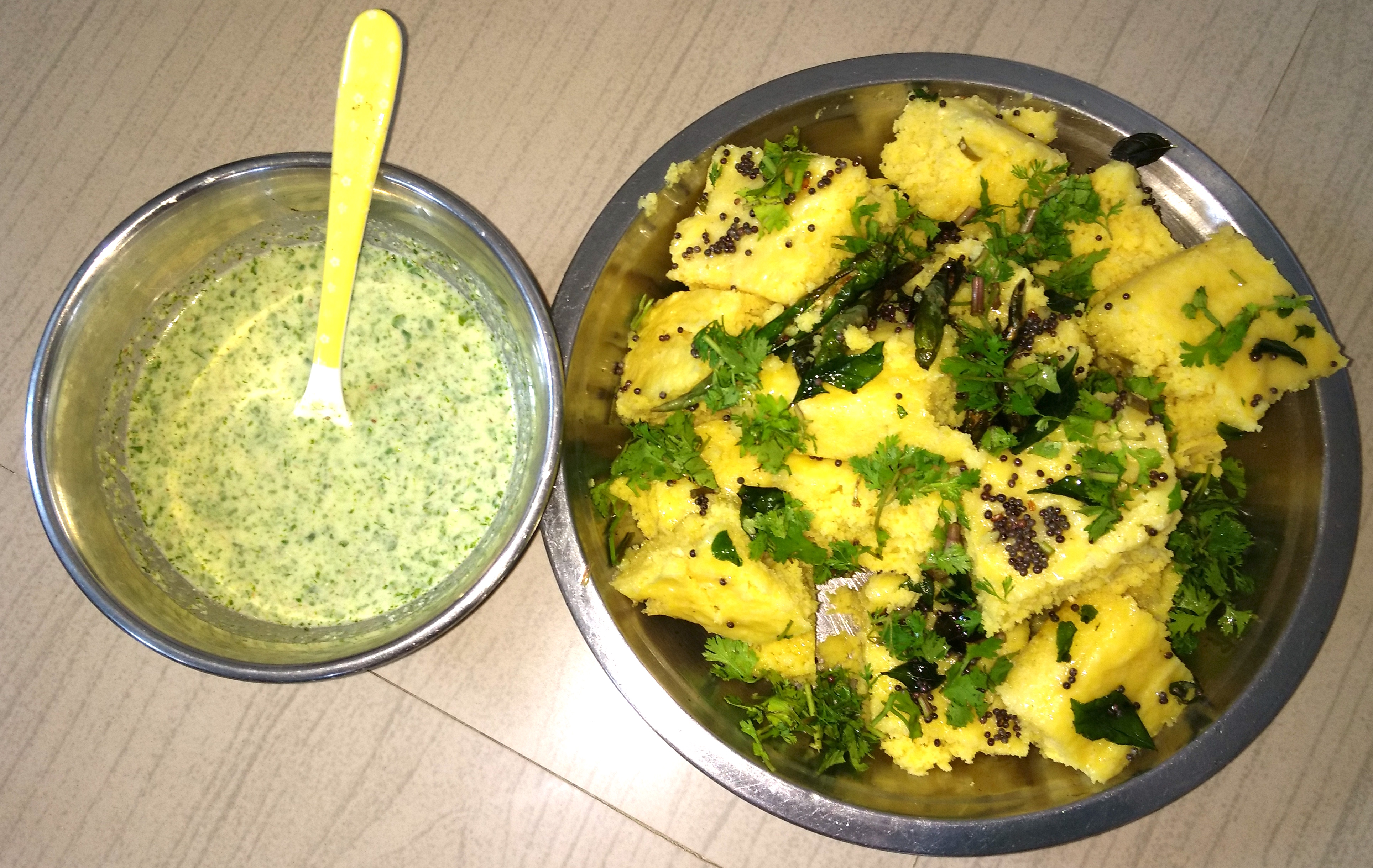 Instant homemade Dhokla-by-Rasoirecipes