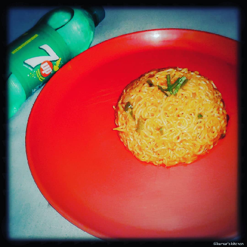 Rasoi_Recipes_Stir fry Knorr masala noodles
