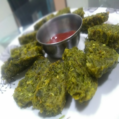 Rasoi_Recipes_Maharashtrian Kothimbir or Coriander Vadi Recipe